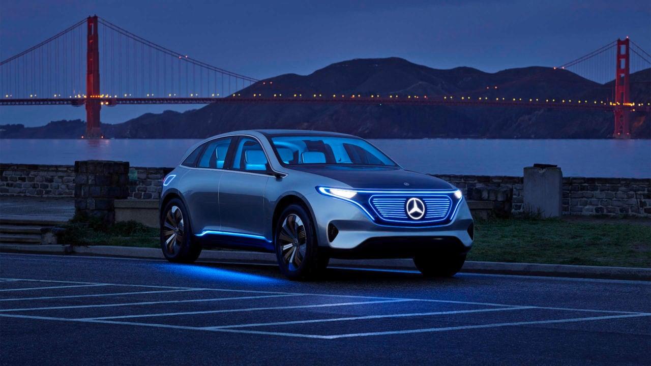 2019 Mercedes Benz EQ Concept | Concept Electric Car