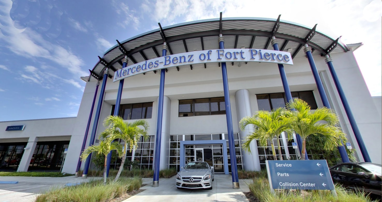 Hours directions to mercedes benz of ft pierce new for Jacksonville mercedes benz dealership