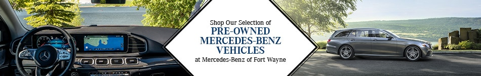 Shop our Selection of Pre-Owned Mercedes-Benz Inventory