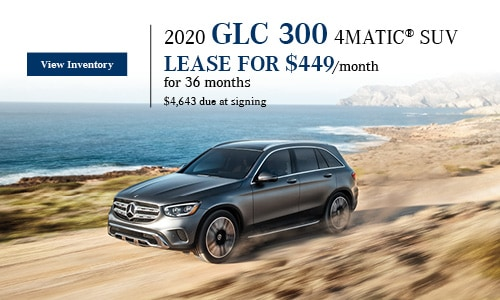 2020 GLC 300 4MATIC SUV - January Offer