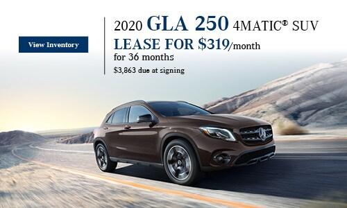 2020 GLA 250 4MATIC SUV - January Offer