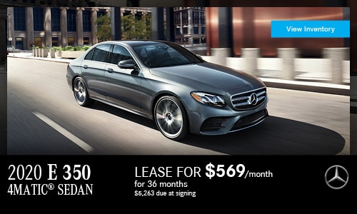 2020 E 350 4MATIC® Sedan | April Offer