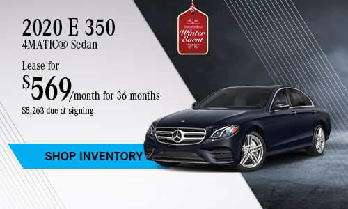 2020 E-Class Sedan - November Offer
