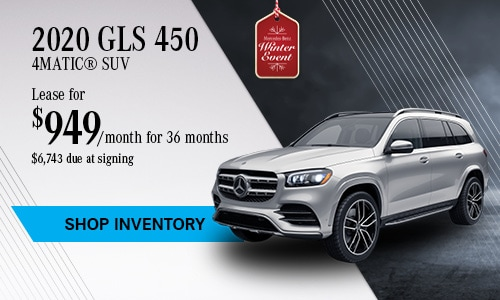 2020 GLS 450 SUV - November Offer