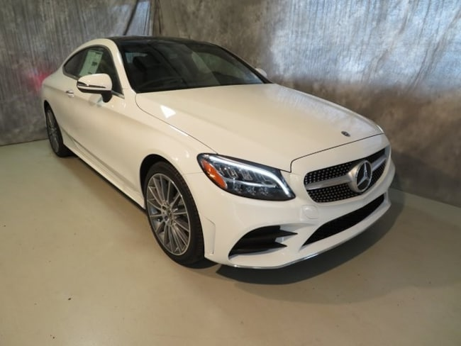 New 2019 Mercedes-Benz C-Class C 300 4MATIC Coupe For Sale/Lease Fort Wayne, IN