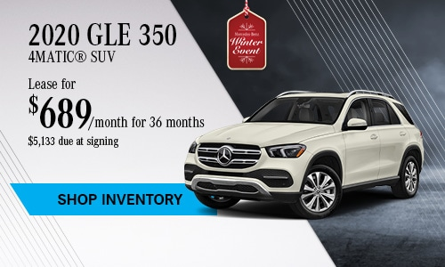 2020 GLE 350 SUV - November Offer