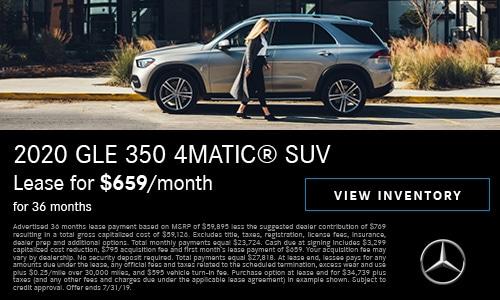 2020 GLE 350 July Offer