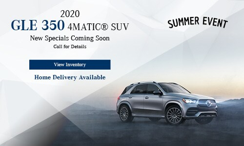 2020 GLE 350 SUV - July Offer