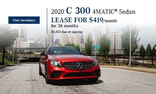2020 C 300 4MATIC Sedan - January Offer