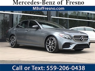Certified Pre-Owned 2017 Mercedes-Benz AMG E 43 4MATIC Sedan for Sale in Fresno