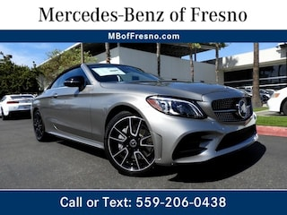 New 2019 Mercedes-Benz C-Class C 300 4MATIC Cabriolet for Sale in Fresno