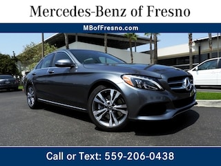Certified Pre-Owned 2018 Mercedes-Benz C-Class C 300 Sedan for Sale in Fresno