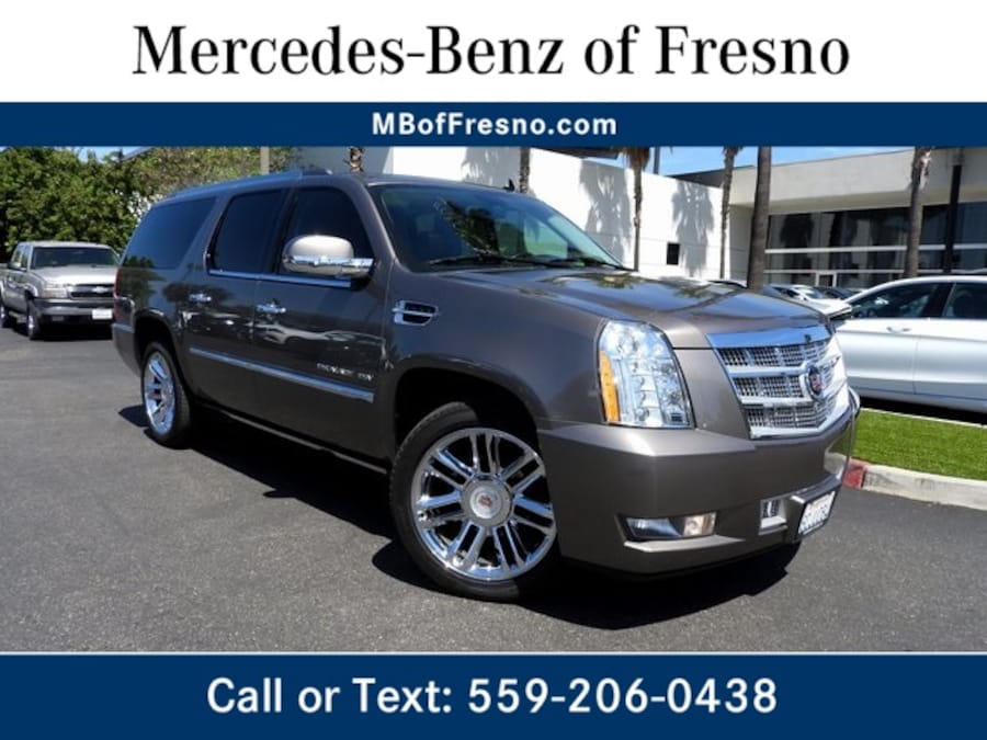 Used 2012 CADILLAC Escalade ESV For Sale at Mercedes-Benz of Fresno