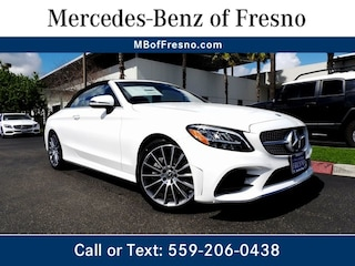 New 2019 Mercedes-Benz C-Class C 300 Cabriolet for Sale in Fresno