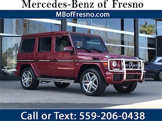 Certified Pre-Owned 2016 Mercedes-Benz AMG G G63 4MATIC SUV for Sale in Fresno