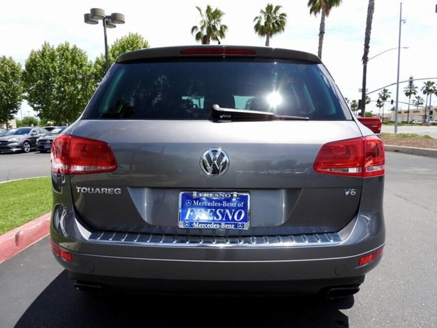 Used 2012 Volkswagen Touareg For Sale at Mercedes-Benz of Fresno   VIN:  WVGEF9BP3CD009271