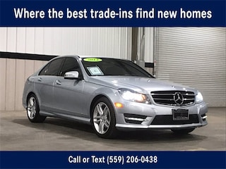 Pre-Owned 2014 Mercedes-Benz C-Class C 250 Sport Sedan for Sale in Fresno