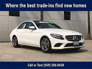 Pre-Owned 2021 Mercedes-Benz C-Class C 300 Sedan for Sale in Fresno