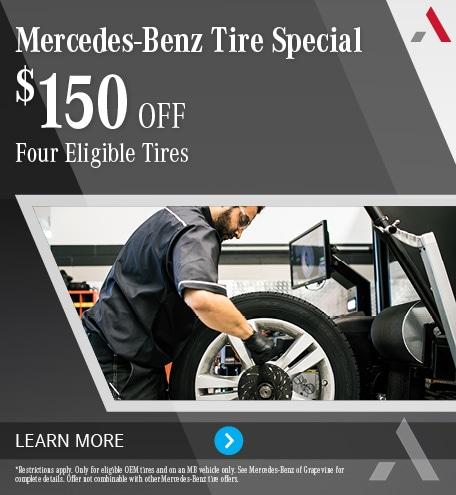 Mercedes-Benz Tire Special $150 Off