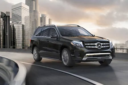 Black Mercedes-Benz GLS