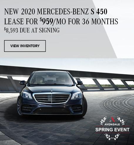 New 2020 Mercedes-Benz S 450