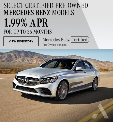 Select Certified Pre-Owned Mercedes-Benz Models