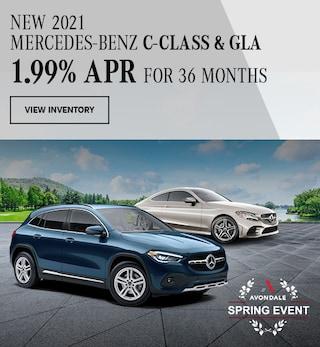 New 2021 Mercedes-Benz C-Class & GLA