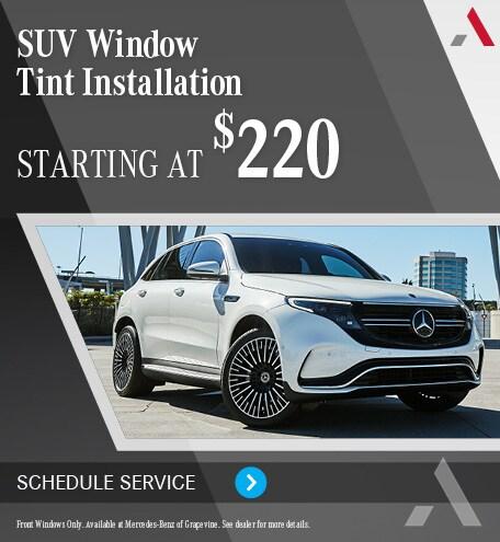 SUV Window Tint Installation