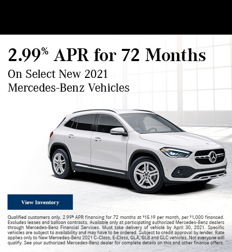 2.99% APR for 72 Months