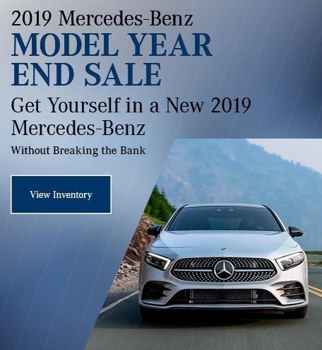 2019 Mercedes-Benz Model Year End Sale