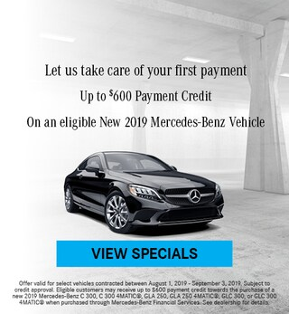 August First Month's Payment Offer