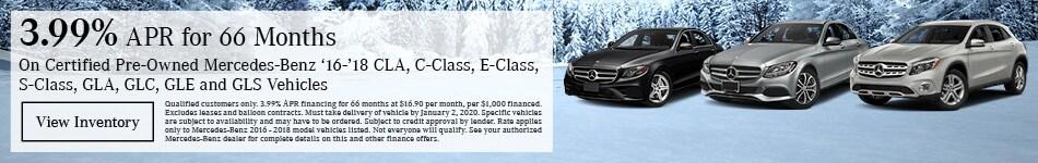 December Certified Pre-Owned Finance Offer
