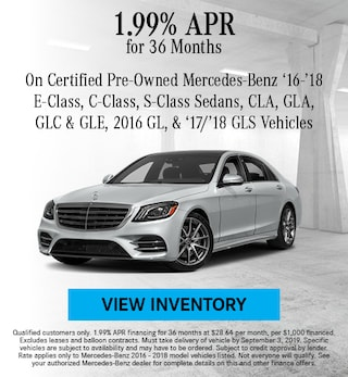 August 2016 - 2018 1.99% CPO Finance Offer