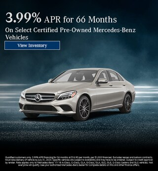 July 3.99% APR for 66 Months Offer