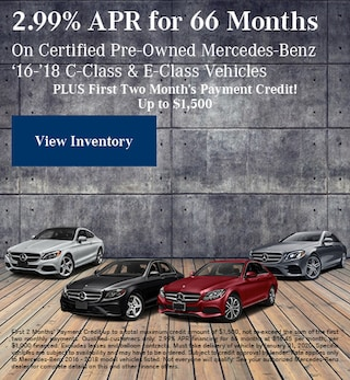 January 2.99% APR for 66 Months CPO Offer