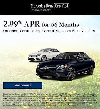 May 2.99% APR for 66 Months Offer