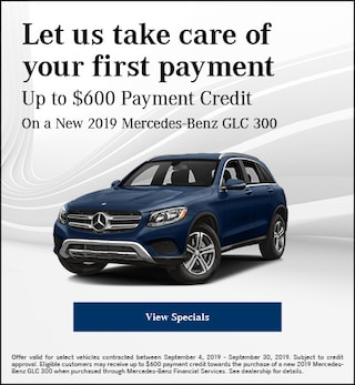 September Let us take care of your first payment Offer