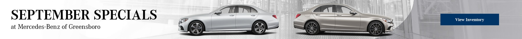 September Specials at Mercedes-Benz of Greensboro