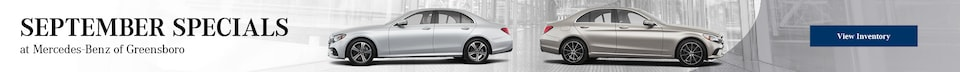 September Specials at Mercedes-Benz of Greensboro
