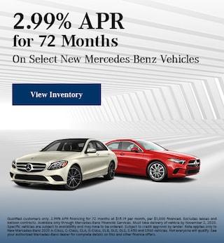 October 2.99% APR for 72 Months Offer