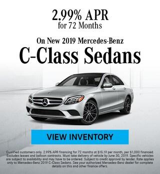 June 2019 C-Class Sedan Finance Offer
