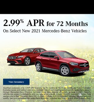May 2.99% APR for 72 Months Offer