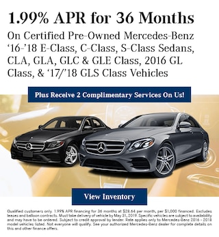 Certified 1.99% APR for 36 Months 5/8/2019