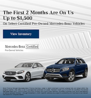 October First 2 Months Are On Us Up to $1,500 Offer
