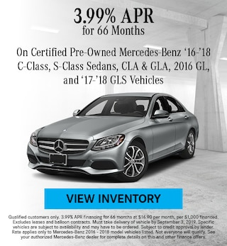 August 2016 - 2018 3.99% CPO Finance Offer