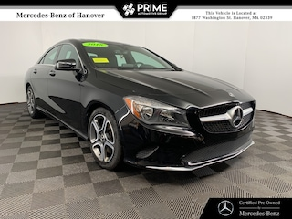 Certified 2018 Mercedes-Benz CLA 250 4MATIC Coupe in Hanover, MA