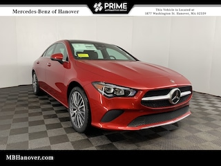 New 2021 Mercedes-Benz CLA 250 4MATIC COUPE in Hanover, MA