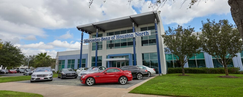 Exterior View Of Mercedes Benz Of Houston North