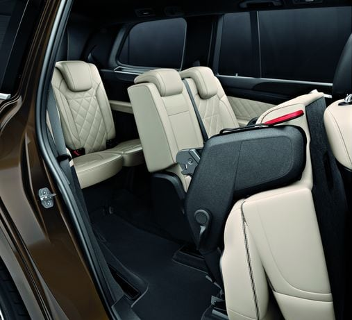 Mercedes-Benz GLS Folding Rear Seats