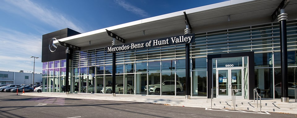Exterior view of Mercedes-Benz of Hunt Valley